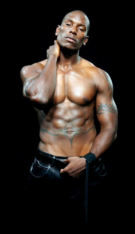 Unlike Naija Husband, Tyrese Gibson uses lotion for sure