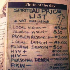 Foreign demons are expensive...how much for a husband though?